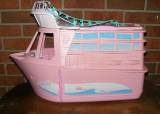 Barbie Doll House Boat Party Cruise SHIP Pink