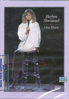 DVD Barbra Streisand One Voice 20th Anniversary Edition SEALED New