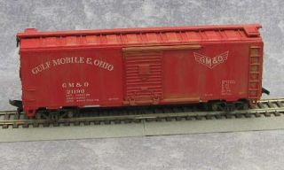 Vintage HO Railroad Cars Bachmann Crane Maintenance Car Flatbed US