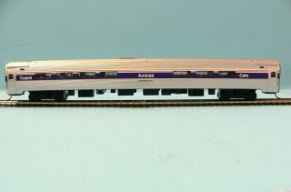 HO Scale Model Railroad Trains Layout Bachmann Amtrak Phase 4