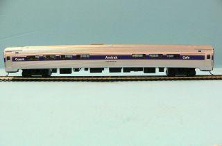 HO Scale Model Railroad Trains Layout Bachmann Amtrak Phase 4