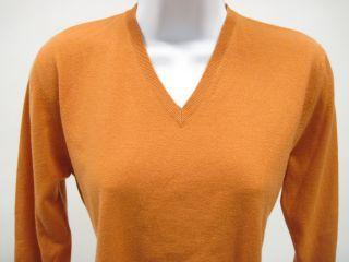 Giorgios of Palm Beach Orange Cashmere Sweater Sz XL
