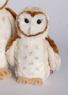 rafter barn owl 8 by douglas cuddle toys measurements 8 00 h x 3 00 l