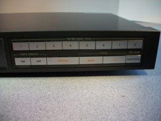 Vintage Technics FM Am Stereo Tuner STZ400 Plus Technics Amplifier