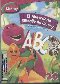 BARNEY, EL ABECEDARIO BILINGÜE DE BARNEY. APRENDE INGLES CON BARNEY