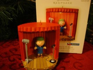 Hallmark 2007 Charlie Brown What Christmas Is All About Peanuts New