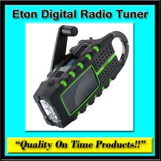 New Eton Digital Radio Tuner VHF USB Charger AM FM Band Reciever LED