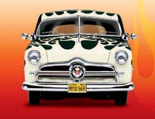 Danbury Mint 124 1949 Barris Ford Curly Flamed 2 Door Custom