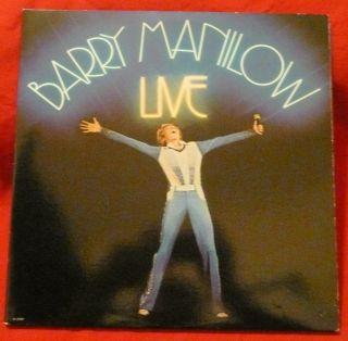 Barry Manilow Live LP Record Original 2X LP Set VG Vinyl Record Album