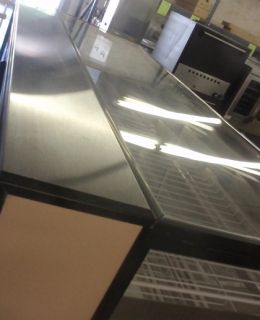 Industries 77 Dual Zone Refrigerated Dry Bakery Display Case