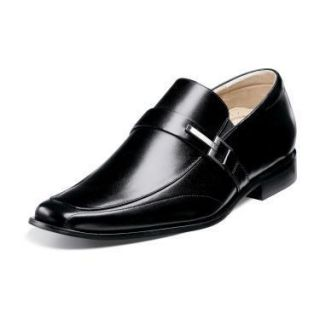 Stacy Adams Bartley Mens Leather Shoes Black 24693