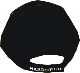 Narcotics Officer Logo Low Profile Baseball Hat Cap