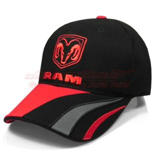 this low profile brushed cotton hat has a ram logo embroidery in front