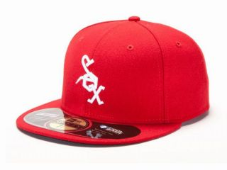 Chicago White Sox 1972 Throwback Red White MLB Baseball Cap