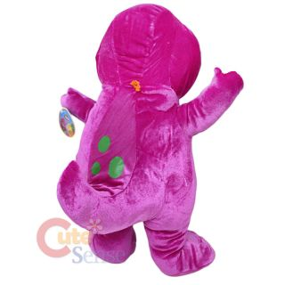 Barney Dinosaur Plush Doll NEW by NANCO 20 Jumbo