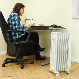 EW7707CM 1500W Electric Portable Radiator Space Heater 1500 W