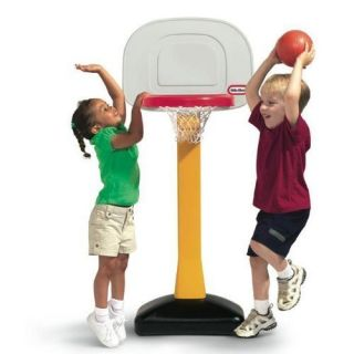 Mini Basketball Court Hoop Child Kid Toddler Play Game New Fast