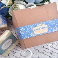 Handmade Deco Label For Soap,Baking,Candle, Multi Purpose Gift Package