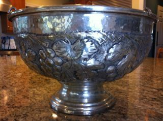 Vintage Metal Floral Party Ice Wine Beer Drinks Bucket