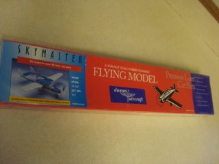 DUMAS SKYMASTER BALSA WOOD FLYING MODEL AIRPLANE KIT ** FACTORY