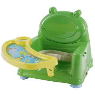 Safety 1st Swing Tray Booster Seat Frog High Chair ~ BRAND NEW