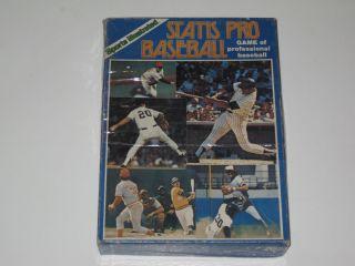 Illustrated Statis Pro Baseball Board Game 82 Season Unused
