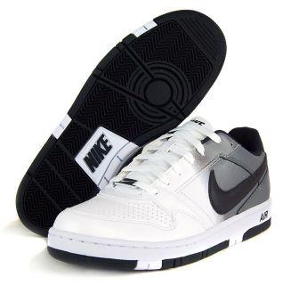 Nike Air Prestige III Sz 6.5 Mens Basketball Shoes White/Grey