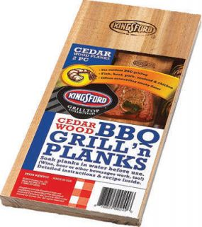 Kingsford Cedar Wood BBQ GrillN Planks s 2 Salmon Fish