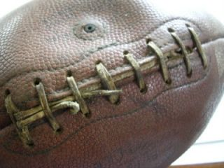 HERE IS A VINTAGE WILSON F1154 OFFICIAL PAUL HORNUNG FOOTBALL, HAS A