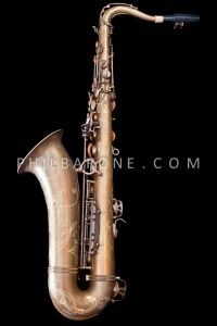 BRAND NEW PHIL BARONE VINTAGE BARE BRASS CLASSIC TENOR SAXOPHONE!