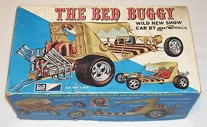 The Bed Buggy Wild New Show Car by George Barris MPC Model Kit