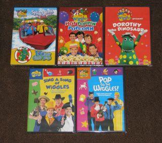 Mr Wiggles The Vocab 1 DVD Wiggles Dorothy The Dinosaur Dvd