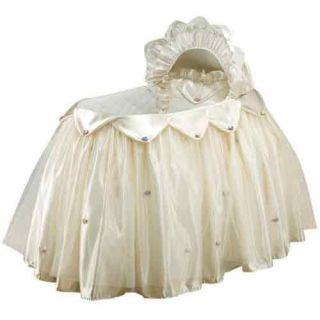 Baby Nursery Infant Doll Bedding Cream Dream Bassinet Set New Fast