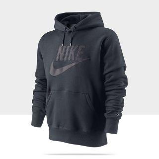 Felpa con cappuccio Nike Brushed   Uomo 506180_473_A