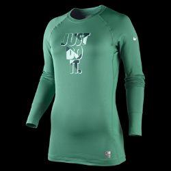 Nike Pro   Core Graphic Womens Thermal Shirt