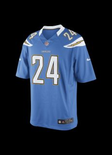 NFL San Diego Chargers (Ryan Mathews) Mens Football Alternate Limited
