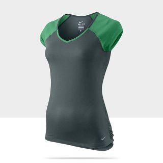 Nike Relay Short Sleeve Womens Running Shirt 481307_357_A