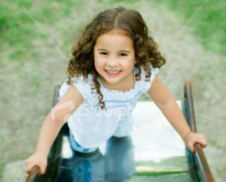 stock photo 3347186 cute little girl having fun