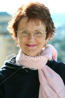 Femmes, Vieux, 50 55 ans, Visage, Lunettes de vue Photo libre de