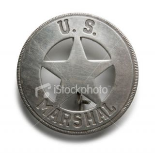 stock photo 1629281 u s marshal badge