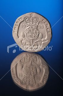 stock photo 11700830 twenty pence coin