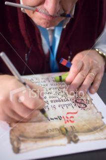 stock photo 2559367 ancient writing style