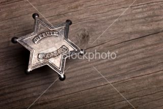 stock photo 12622706 deputy marshall badge background