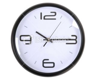stock photo 13457690 clock clipping path