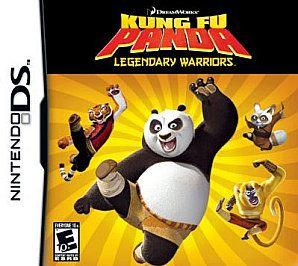 Kung Fu Panda Legendary Warriors Nintendo DS, 2008