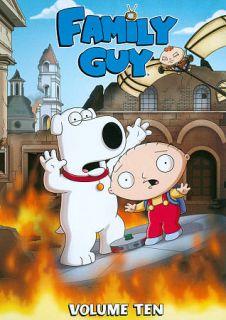 Family Guy, Vol. 10 DVD, 2012, 3 Disc Set