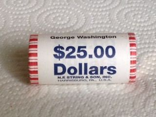 2007 D GEORGE WASHINGTON DOLLAR 25 COIN BANK ROLL UNCIRCULATED