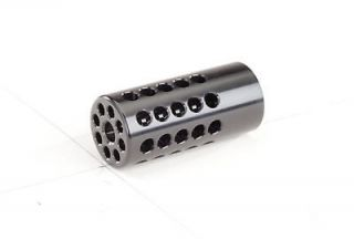 Tactical Solutions Gloss Black 10/22 1/2x28 Compensator Muzzle Brake 1