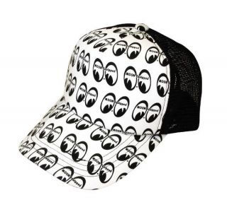 Mooneyes 2011 Trucker Hat Baseball Cap Moon Equipped VW Hotrod Camper