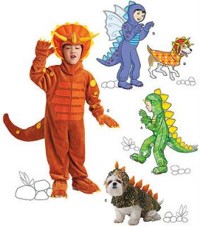 Simplicity 1765 Child & Dog Dinosaur & Dragon Costume Pattern 3 8